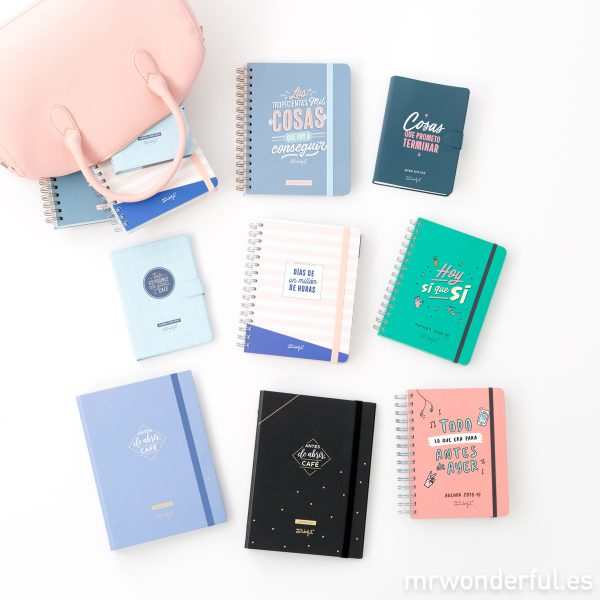 Agendas de Mr. Wonderful