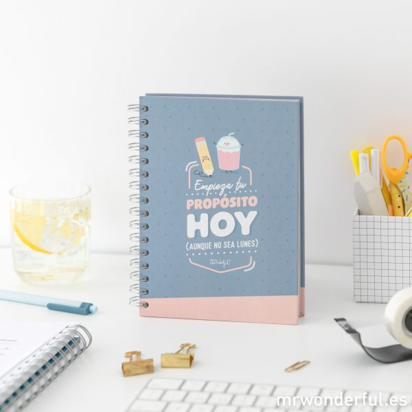 Libreta pequeña Mr. Wonderful
