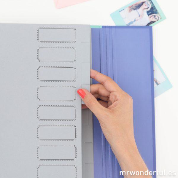 Carpetas con separadores