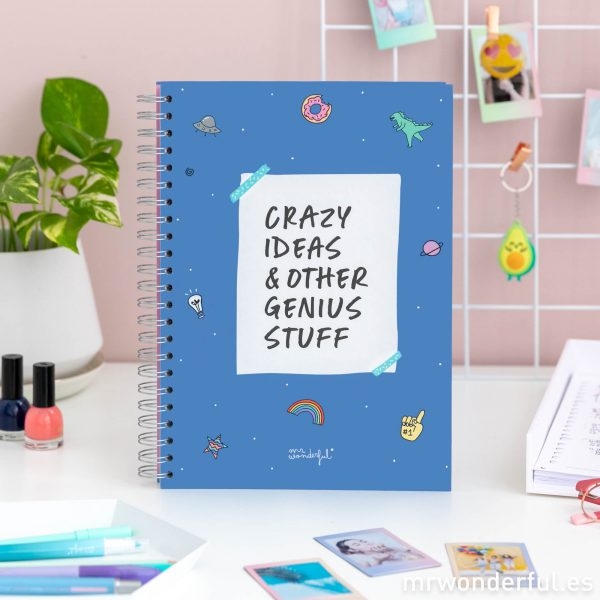 Libreta de Mr. Wonderful