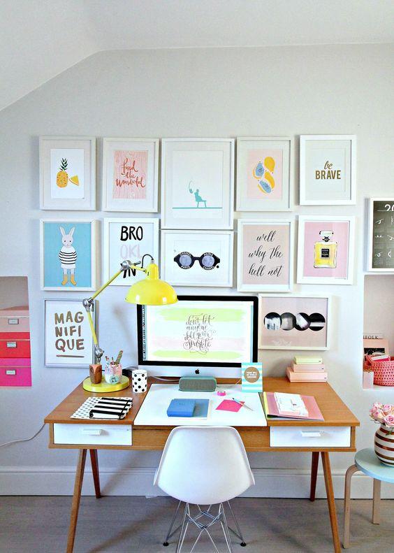 Láminas para decorar escritorios y espacios de trabajo