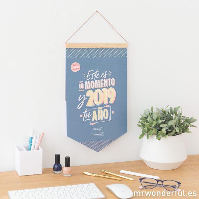 Calendario de pared 2019