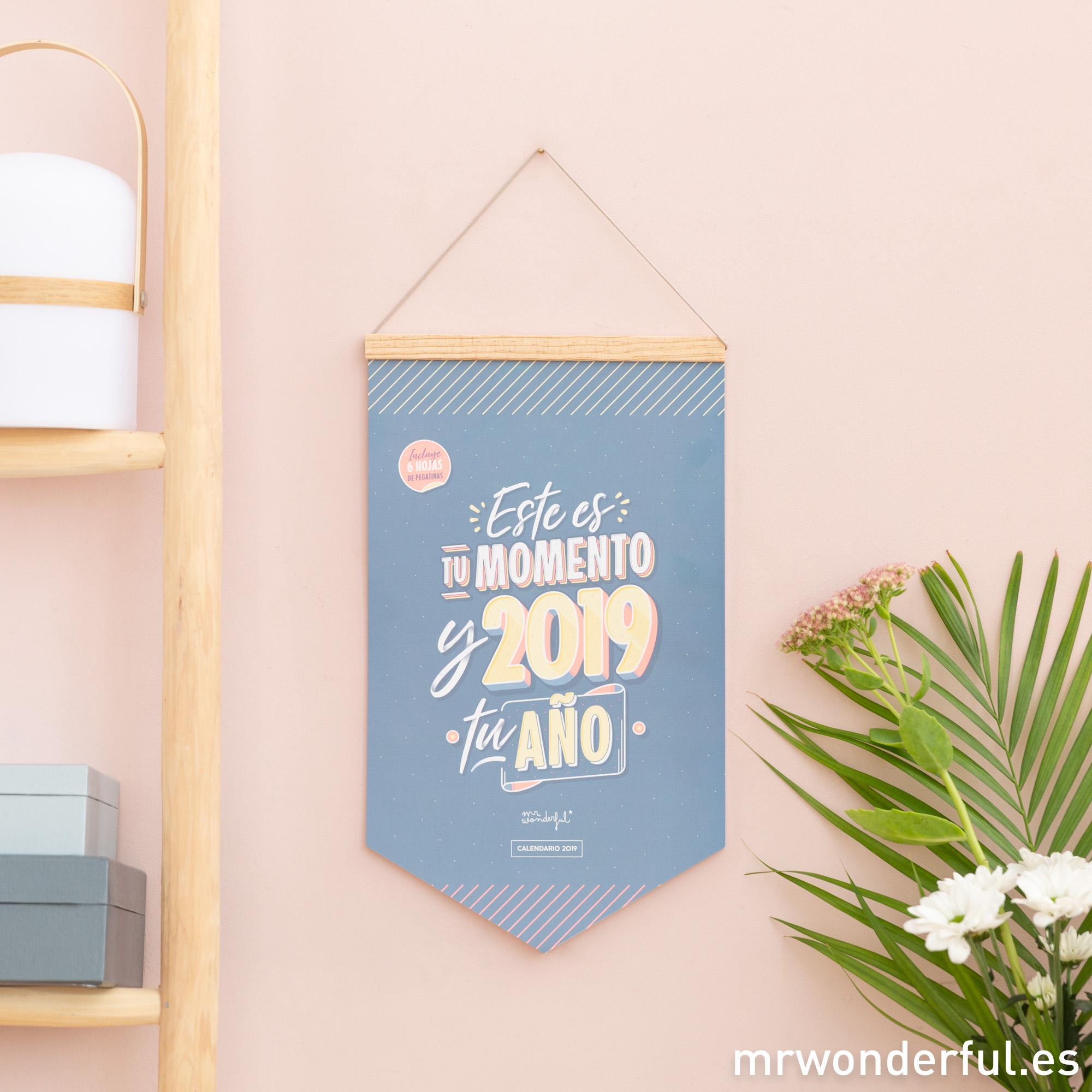 Escoge Tu Calendario 2019 Mr Wonderful Tenemos El Que Más