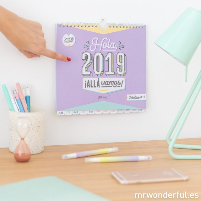 Calendario Mr. Wonderful 2019