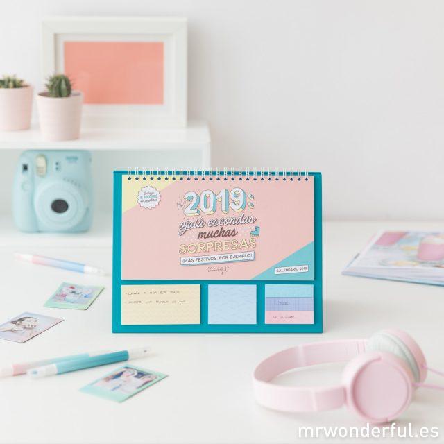 Calendarios de mesa originales