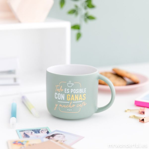 Taza con mensaje mr. wonderful