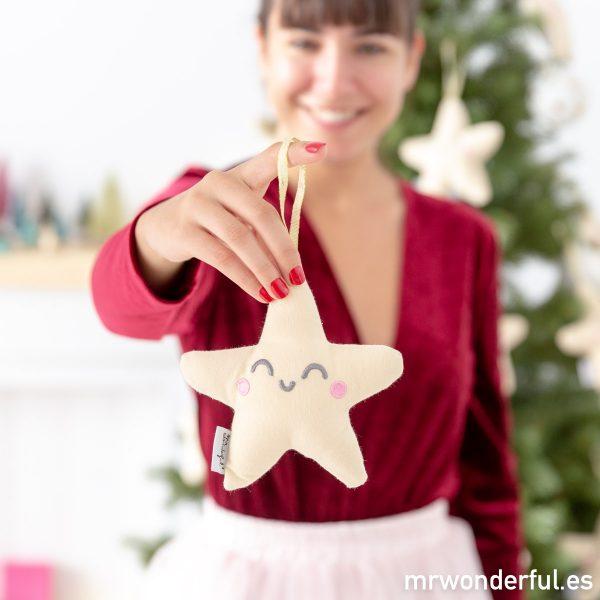 Estrella Wonder para decorar tu árbol de Navidad