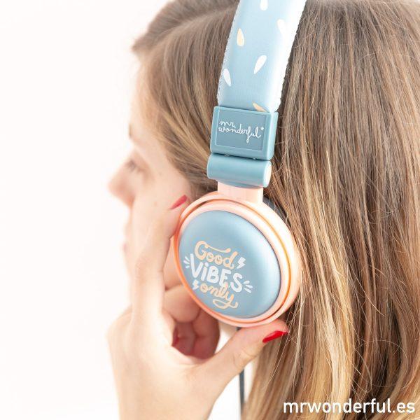 Auriculares de diseño Mr. Wonderful