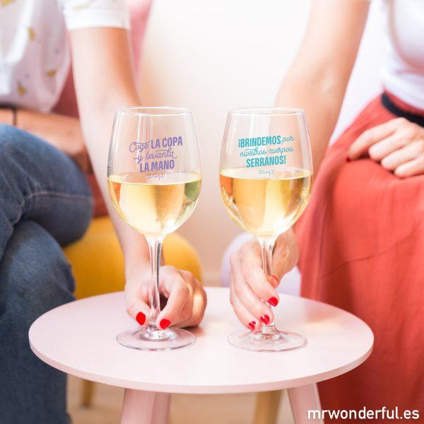 Copas de vino de regalo