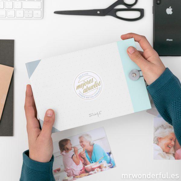 álbum de fotos para abuelos
