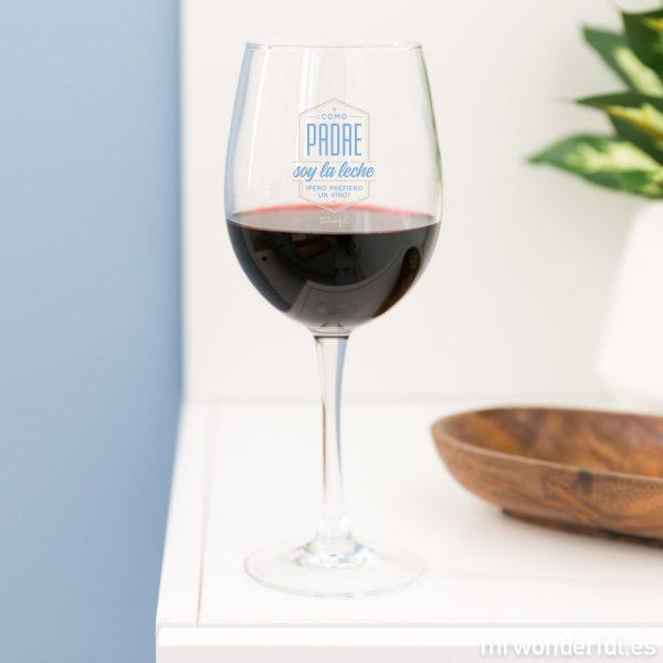 Copa de vino para regalar el Dïa del Padre