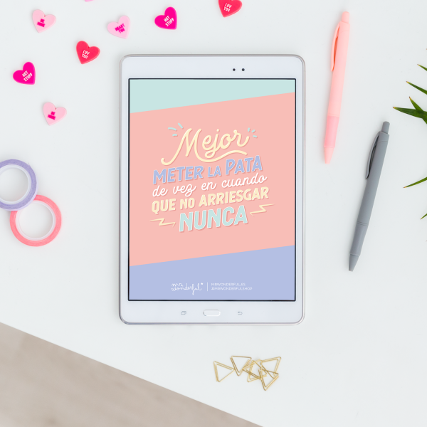 Fondo de pantalla para tablet Mr. Wonderful