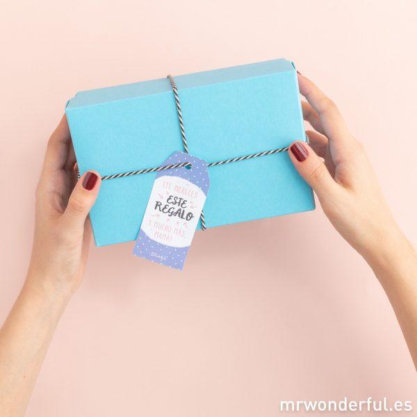 Etoquetas para regalos para sorprender a las madres