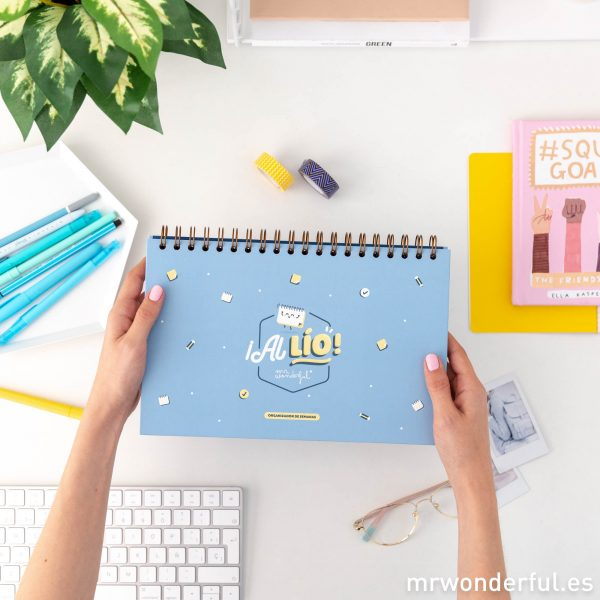 Agendas y planificadores Mr. Wonderful