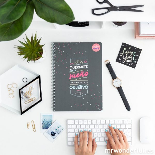Cuadernos con frases Mr. Wonderful