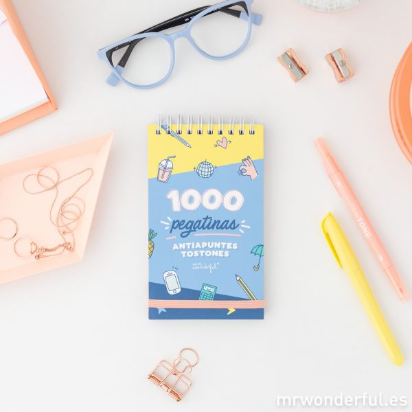 Pegatinas para agendas Mr. Wonderful 2020