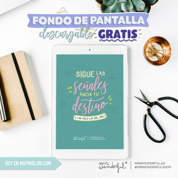 Calendario Julio 2019 Mr Wonderful.Descargables Muymolon