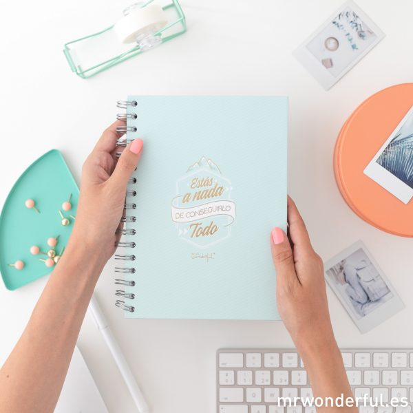 Libretas Mr. Wonderful pautadas