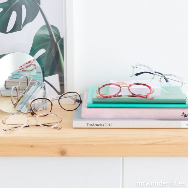 Nuevas gafas de vista Mr. Wonderful colores formas femeninas modernas tendencias originales