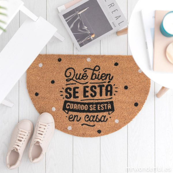 Felpudos bonitos Mr. Wonderful