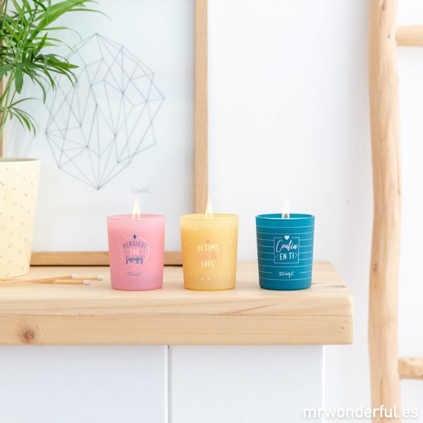 Velas de olores Mr. Wonderful