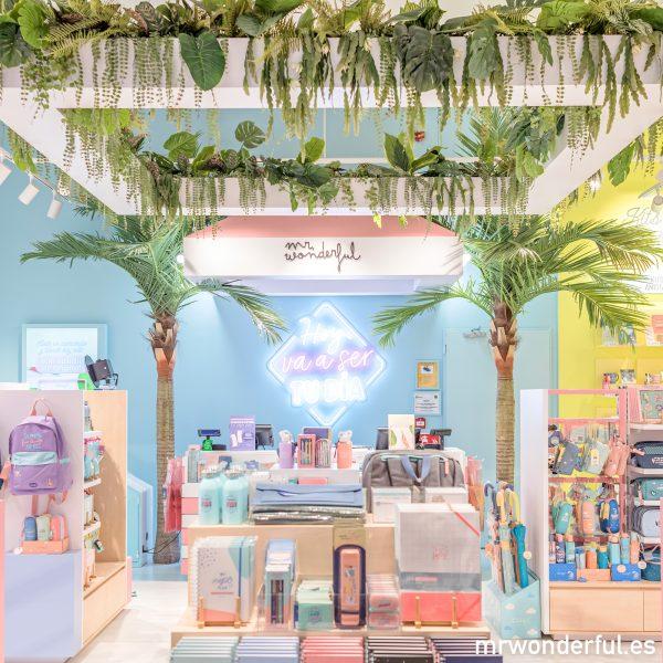 tienda física Mr. Wonderful parque sur Madrid centro comercial inauguración regalos originales frases motivadoras