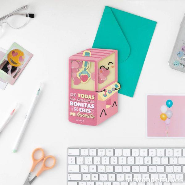 Postales de amor Mr. Wonderful novedades regalo para tu pareja original con mensaje