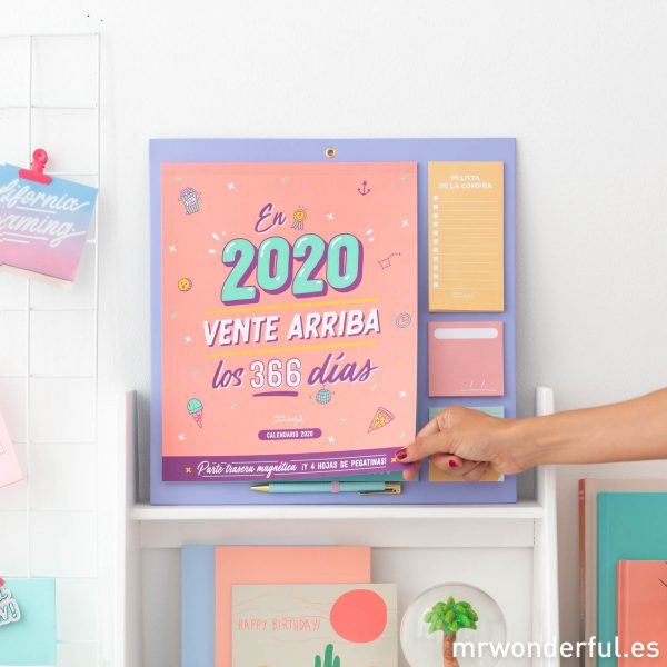 Calendario con imán Mr. Wonderful
