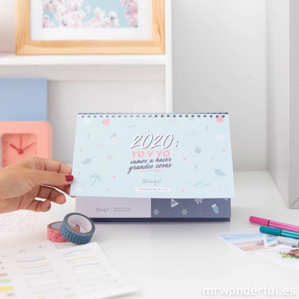 Calendarios 2020 Mr. Wonderful