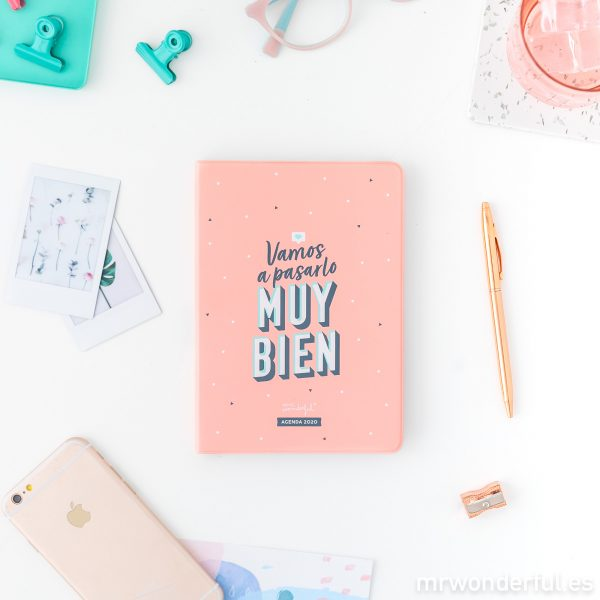 Agendas de bolsillo 2020 Mr. Wonderful