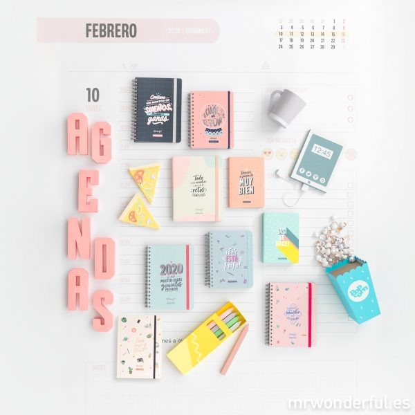 Agendas anuales Mr. Wonderful