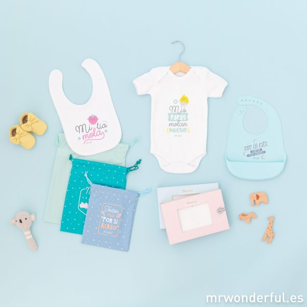 Regalos originales para bebés de Mr. Wonderful