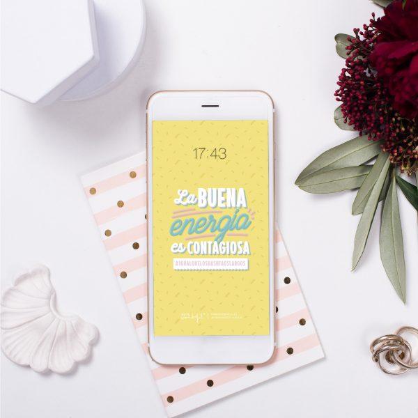 Fondo de pantalla descargable para smartphone