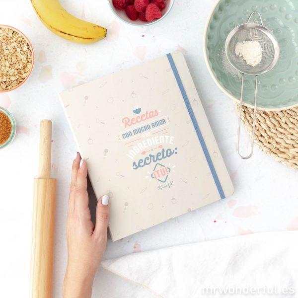 Libro de recetas Mr. Wonderful