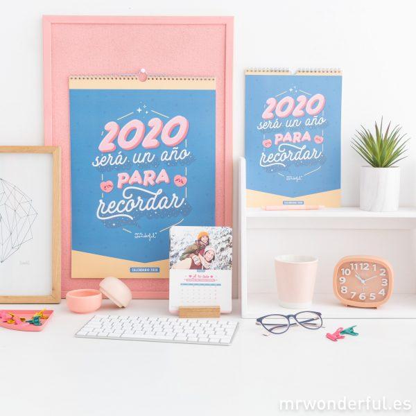 Calendario 2020 con fotos Mr. Wonderful