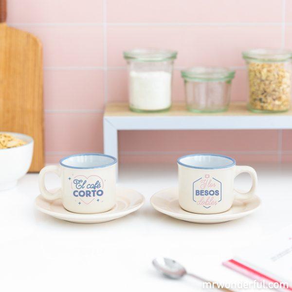 Tazas de espresso para regalar en San Valentín