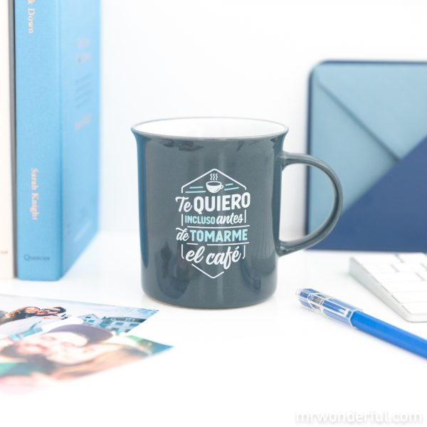 Taza Mr. Wonderful para regalar en San Valentín