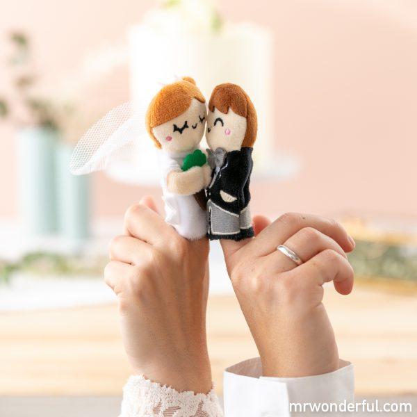 Marionetas para bodas