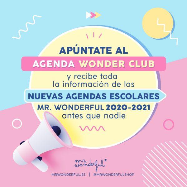 Apúntate ya al Agenda Wonder Club