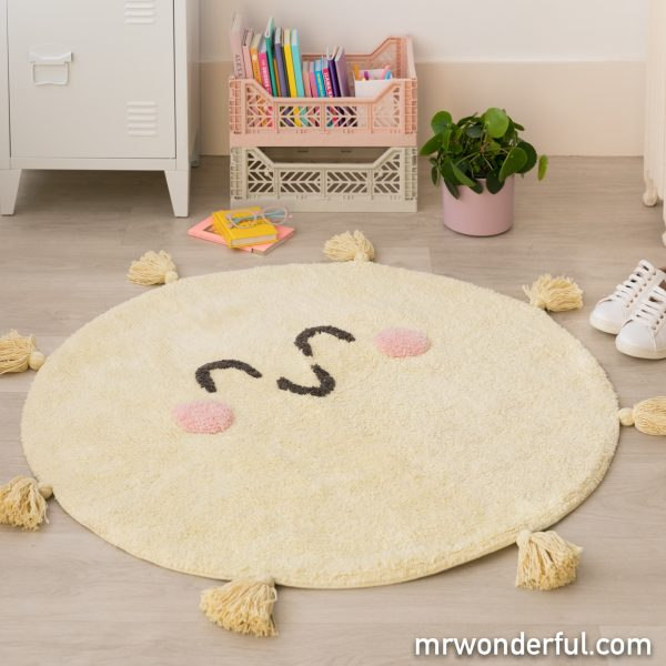 Alfombra lavable Mr. Wonderful para decorar la casa