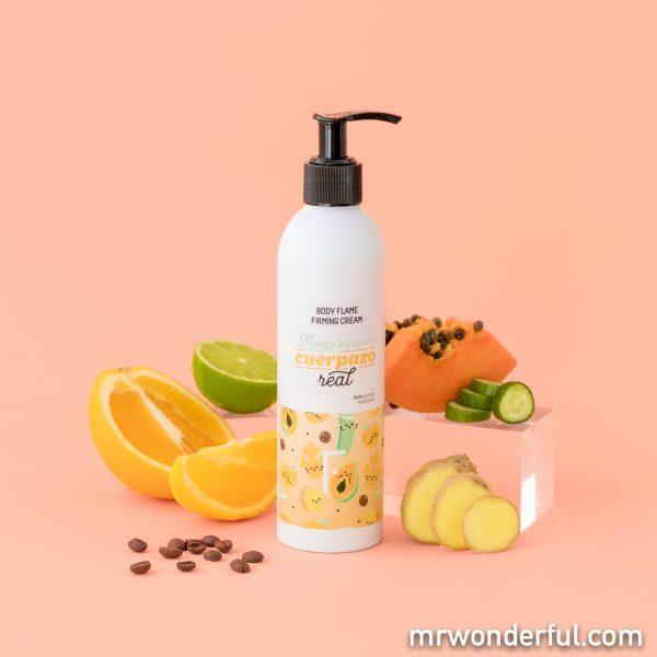 Crema corporal de la nueva edición limitada de Freshly Cosmetics by Mr. Wonderful.