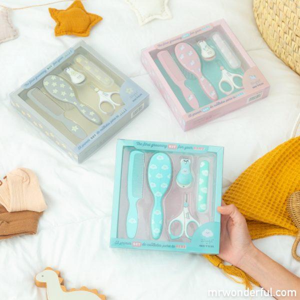 Sets de manicura para bebés de Mr. Wonderful x BETER